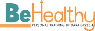 Be Healthy Personal Trainer Personal Training in Somerset